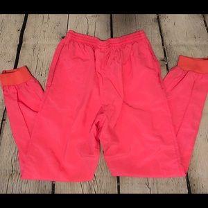 Nike Womens Warm Up Pants Pink Small